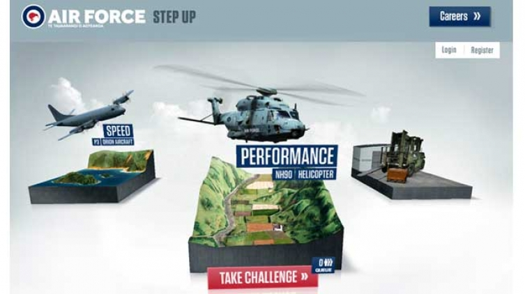 NZ Air Force Invites Recruits to Step Up With Innovative Campaign