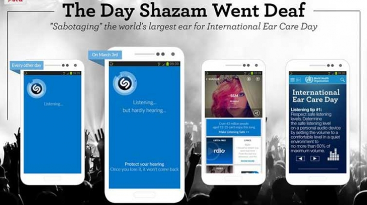 The Day Shazam Went Deaf' the only Israeli One Show Award Finalist